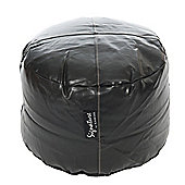 Kaikoo Footstool - Algro Leather Black