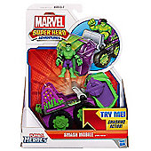 Playskool Heroes Marvel Super Hero Adventures - Smash Mobile and Hulk