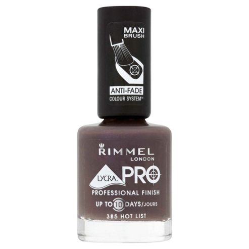 Rimmel Lycra Pro Nail Polish Hot List