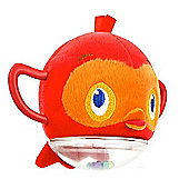 Bright Starts Rattle & Go Birdie - Orange
