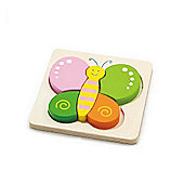 Viga Wooden Handy Butterfly Puzzle