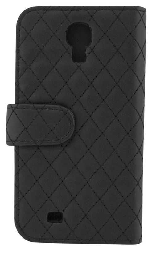 Tortoise™ Look Quilted Folio Case Samsung Galaxy S4 Black.