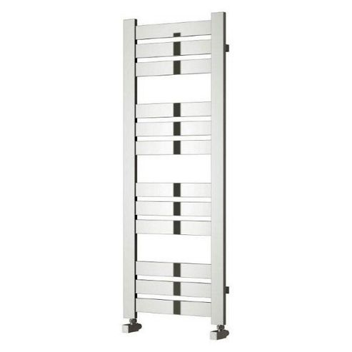 Reina Riva Designer Towel Rail, 960mm High x 500mm Wide, Chrome