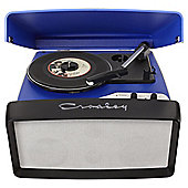 Crosley Collegiate Turntable, Blue