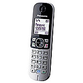 Panasonic KX-TG6822 Twin Cordless Phone - Black