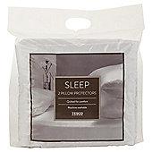 Tesco Standard Pillow Protector Twinpack