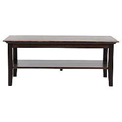 Noir 1 Shelf Coffee Table