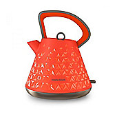 Morphy Richards 108106 Prism, Cordless Kettle, with 1.5L Capacity, in Orange