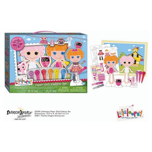 Lalaoopsy Paper Doll Fashion Craft kit