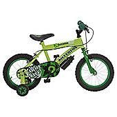"Silverfox Scuffle 14"" Kids' Bike with Stabilisers"