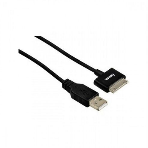 USB 2.0 Charging/sync Cable for iPad 1m - Black.