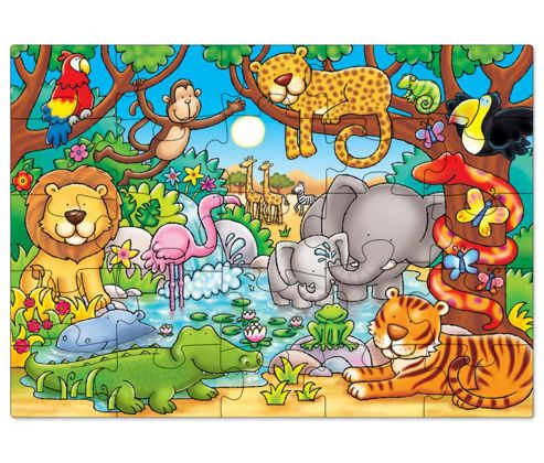 Whos in the Jungle Jigsaw Puzzle 25 Pieces