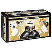 Cartamundi Copag Texas Hold'em 300 Piece Wooden Poker Set