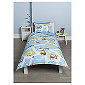 Kids Transport Single Duvet Set