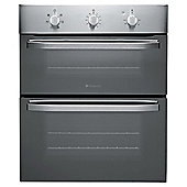 Hotpoint First Edition Electric Oven, UHS51X, Stainless Steel