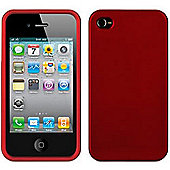 Griffin GB03181 Outfit Ice Case for iPhone4/4S - Red
