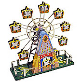 Retro Tin Clockwork Collectable - Multi-coloured