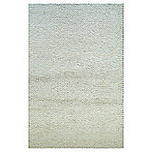 InRUGS Nature Style White Woven Rug - 290cm x 200cm (9 ft 6 in x 6 ft 6.5 in)