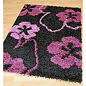 Origin Red Cosmo Black / Purple Rug - 220cm x 160cm