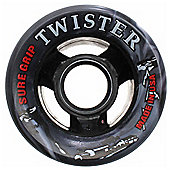Suregrip Twister Black/White Swirl 62mm Roller Derby Skate Wheels