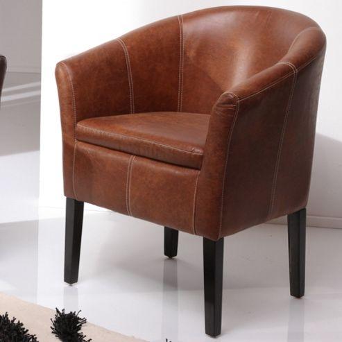 Wilkinson Furniture Fawley Tub Chair - Antique Tan