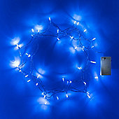 40 Blue LED Battery Fairy Lights