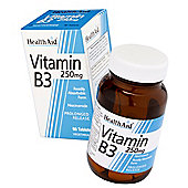 HealthAid Vitamin B3 90 Tablets 250mg