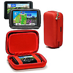 Navitech Hard Carry Case Red For The TomTom GO 510 5inch