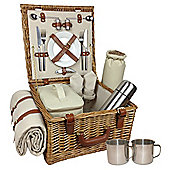 Wicker Valley Deluxe 2 Person Hamper
