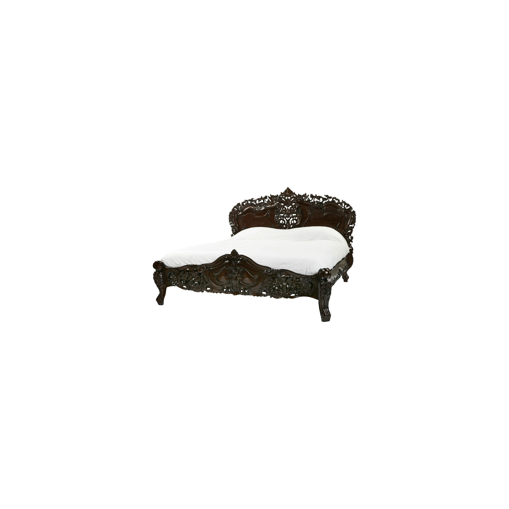Anderson Bradshaw Rococo Bed Frame - King at Tesco Direct