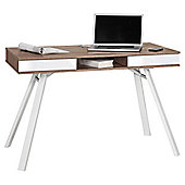 Maja Chelsea Oak and White Laptop Desk