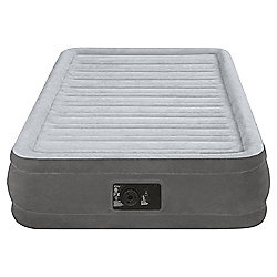 Intex Twin Comfort Mid Rise Airbed With Pump