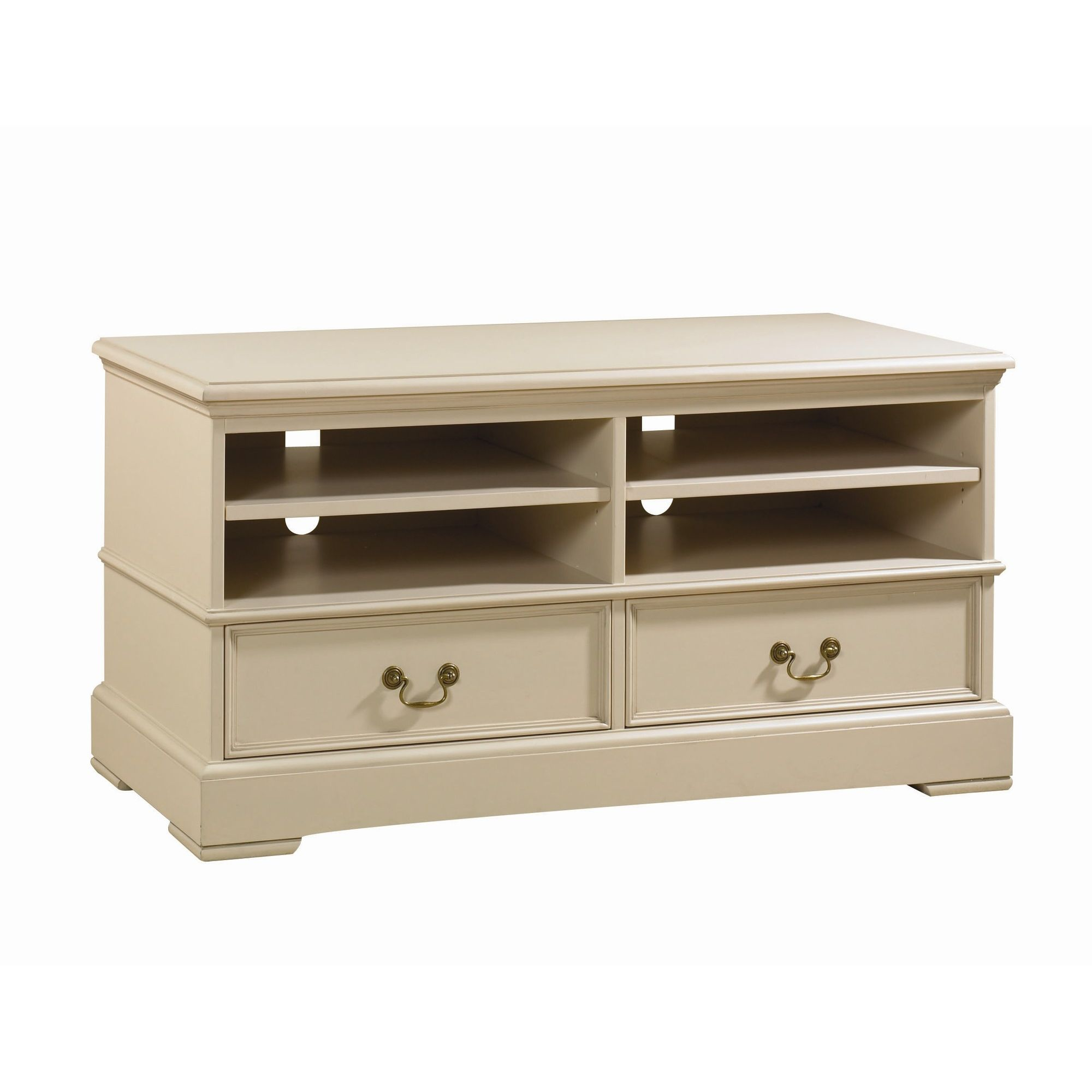 YP Furniture Country House TV Unit - Oak Top and Ivory at Tesco Direct