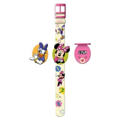 Minnie Mouse Interchangeable Head Watch