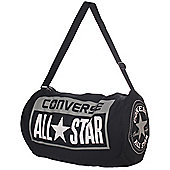 Converse All Star Legacy Duffel Canvas Shoulder Rucksack Bag - Black