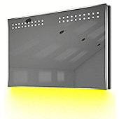 Ambient Ultra-Slim LED Bathroom Mirror With Demister Pad & Sensor K14Y