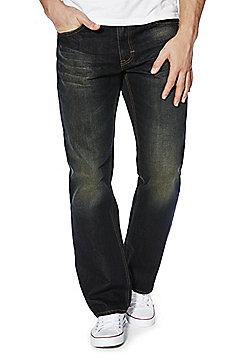 F&F Indigo Tint Loose Fit Jeans - Indigo tint