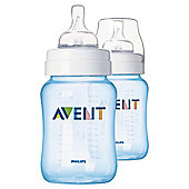 PHILIPS AVENT CLASSIC BOTTLE BLUE 2X 260ML
