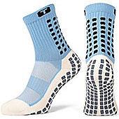 Trusox Mid-Calf Sock Cushion - Blue
