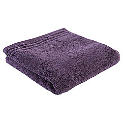 Tesco Egyptian Cotton Hand Towel, Aubergine