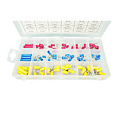 76-Piece Spade Terminals Assortment