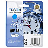 Epson Alarm Clock 27XL DURABrite Ultra Ink Cartridge (Cyan)