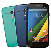 Tesco Mobile Motorola Moto G™ + 4G Black