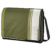 "Hama AHA Hyde Laptop Messenger Bag for up to 15.6"" Green & White"