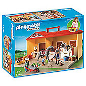Playmobil 5348 Country Take Along Horse Stable