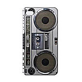 Apple iphone 4S Case - Retro Boombox Design - Compact and light