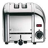 Dualit 20441 Classic Vario 2 Slice Toaster in Polished Stainless Steel