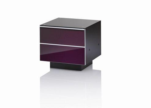 UK-CF G Series DRW Compact TV Unit - 47cm - Damson