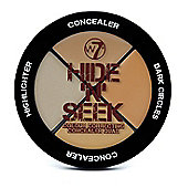 W7 Hide 'N' Seek Quad Colour Correcting Concealer -Natural