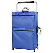 IT Luggage World's Lightest Suitcase, Blue Large